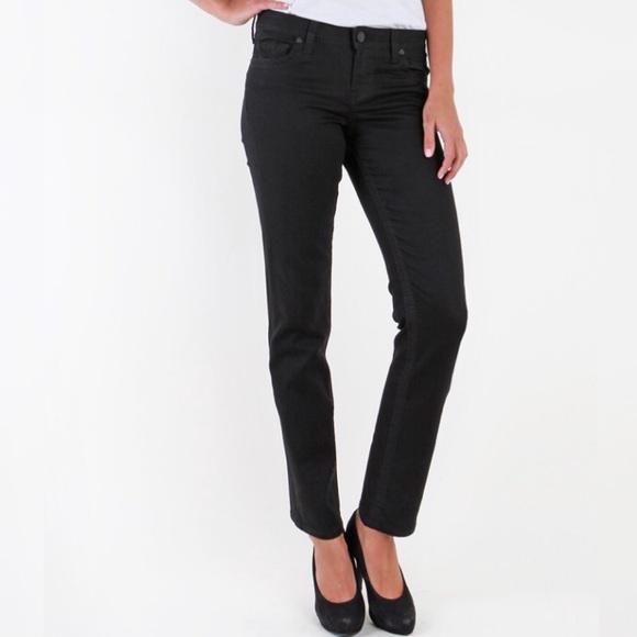 Kut from the Kloth Denim - Kut From the Kloth Stevie straight leg black jeans
